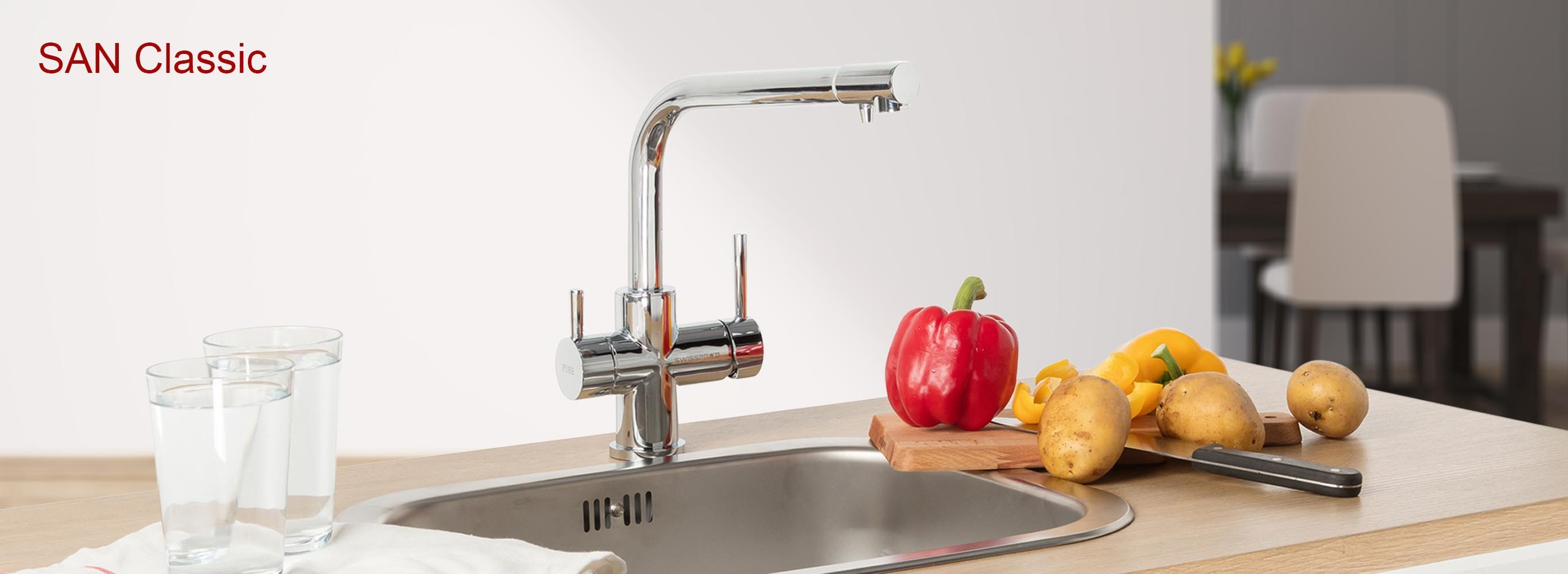 SAN Classic - All-In-One Faucet