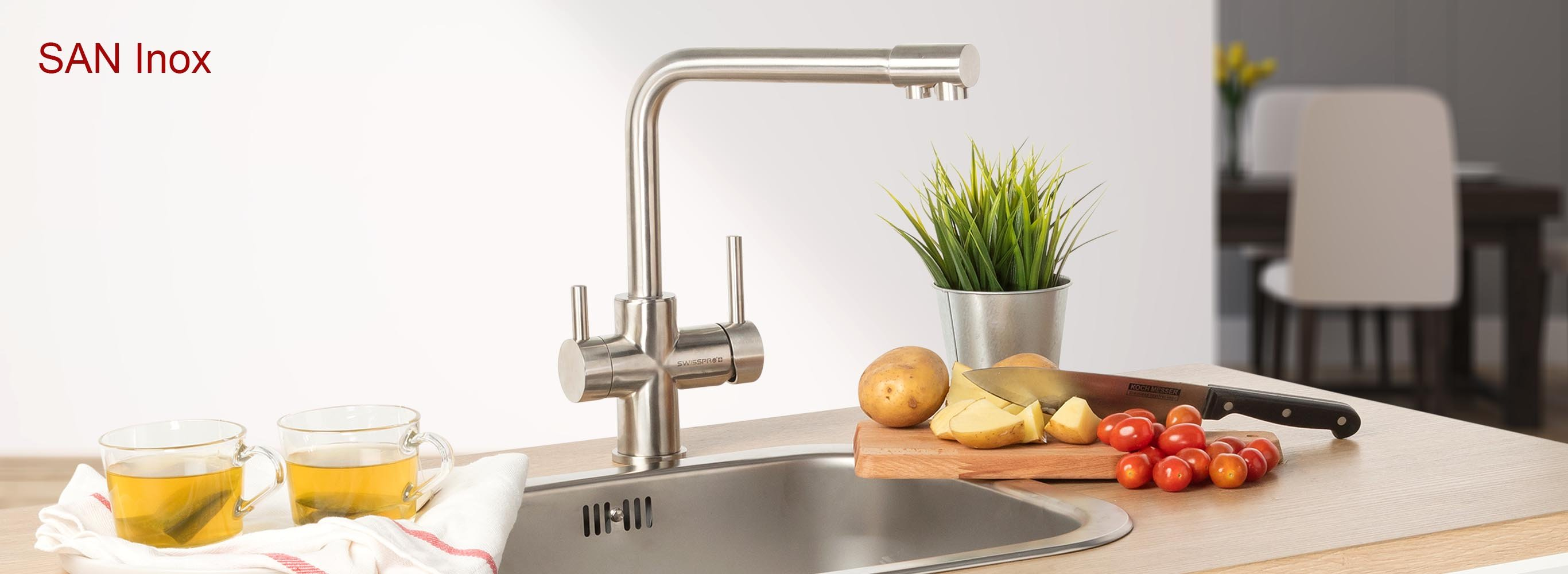 SAN Inox - All-In-One Faucet