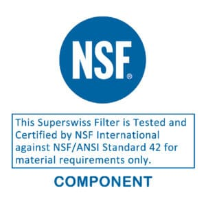 OUR SUPERSWISS FILTER TAKES ON THE NSF CERTIFICATION CHALLENGE – WILL WE PASS THE TEST?